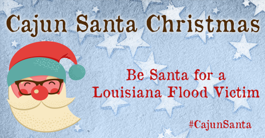 Cajun Santa Christmas – Give to a Louisiana Non-Profit Campaign This Holiday Season